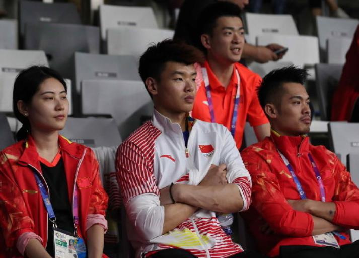 国羽首秀!林丹三单坐看中国挺进四强,日韩一哥对决桃田完胜