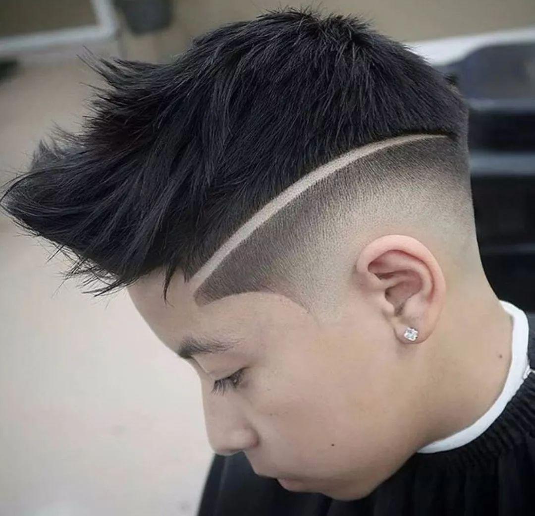 男士头型_2018男生最潮发型图片图片