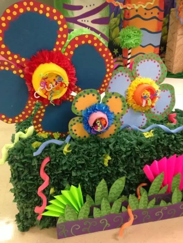 小小传承人:幼儿园环创主题墙及楼道这样布置最好看!
