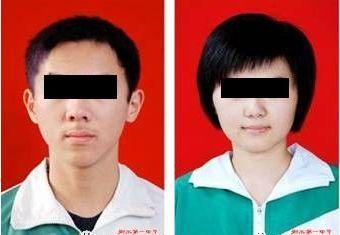 男女生标准发型:  图片:河北衡水中学微信公众号图片