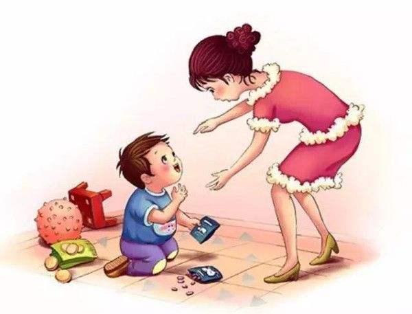谁跟妈妈玩���)��,_孩子跟爸爸亲,还是跟妈妈亲,从进门后的第一句话就能