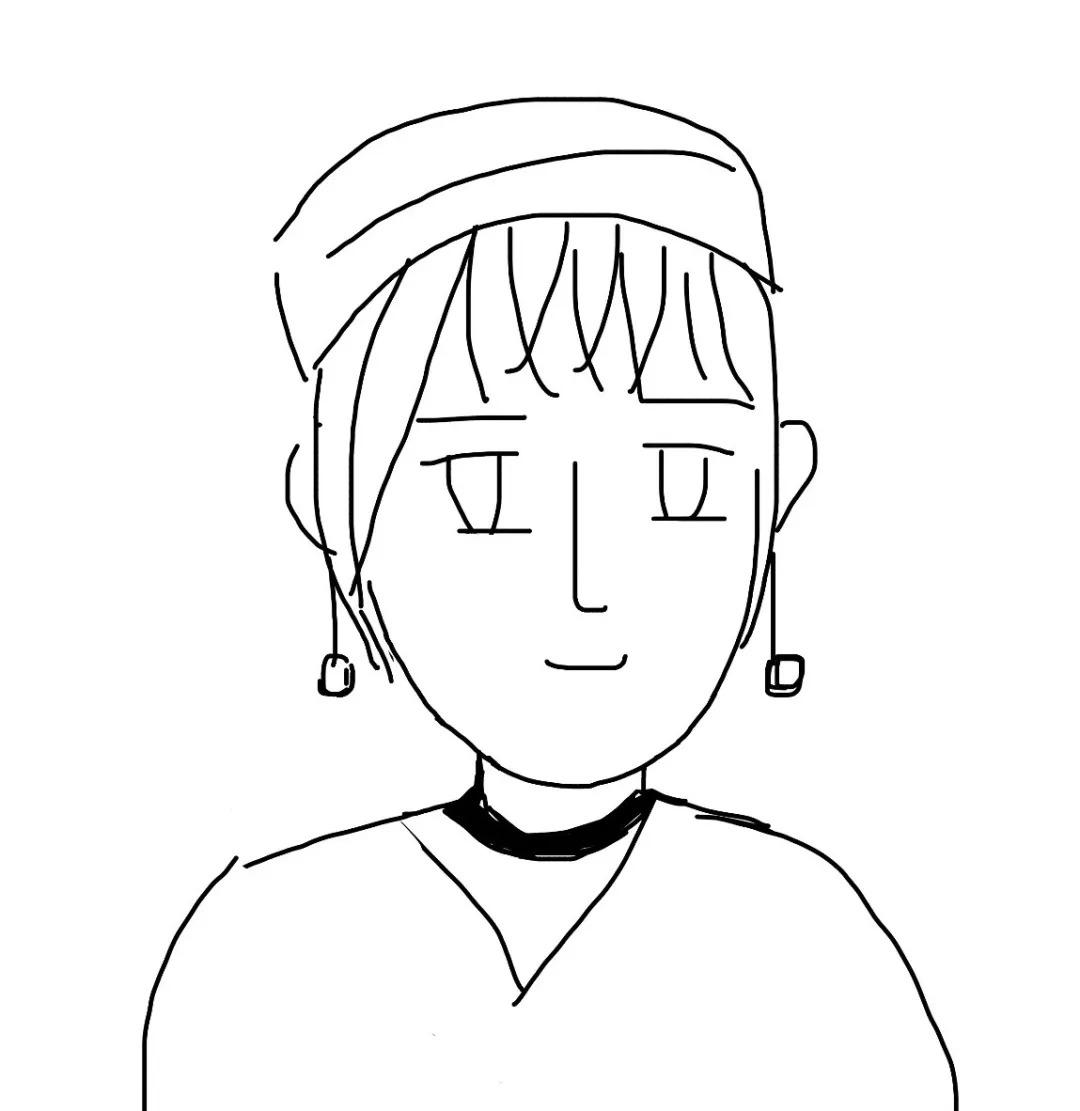 """手残党:""""给自己画一个手绘头像原来这么简单!"""