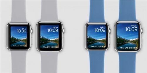 片面屏Apple Watch来了 或扬弃陶瓷板