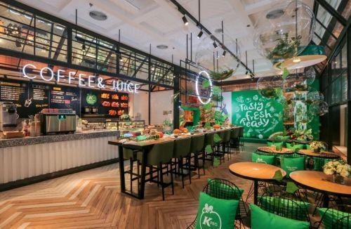 肯德基又变身:kpro店推轻食氮气咖啡,小龙虾沙拉.