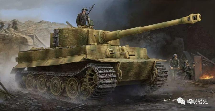 条顿铁脚板的奥秘:图说二战德军坦克的悬挂系统