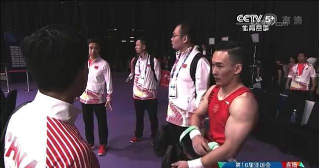 复仇日本!亚运体操男团决赛中国夺金 绝对优势问鼎