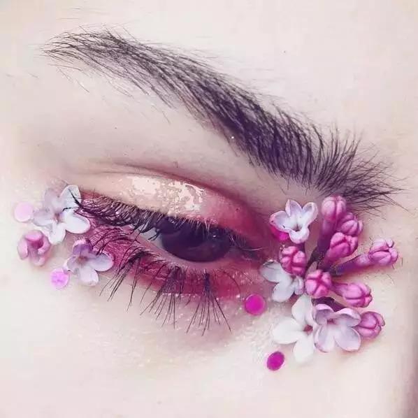 100款创意眼妆,美到挪不开眼