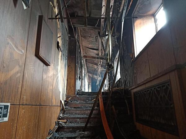 2018年8月25日凌晨,哈尔滨市松北区太阳岛北龙温泉休闲酒店发生火灾.
