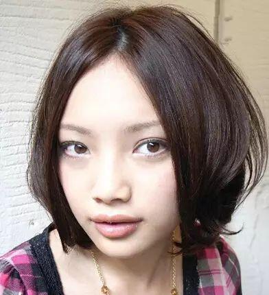 大饼脸变小v脸发型设计,脸型看起来更加可爱!