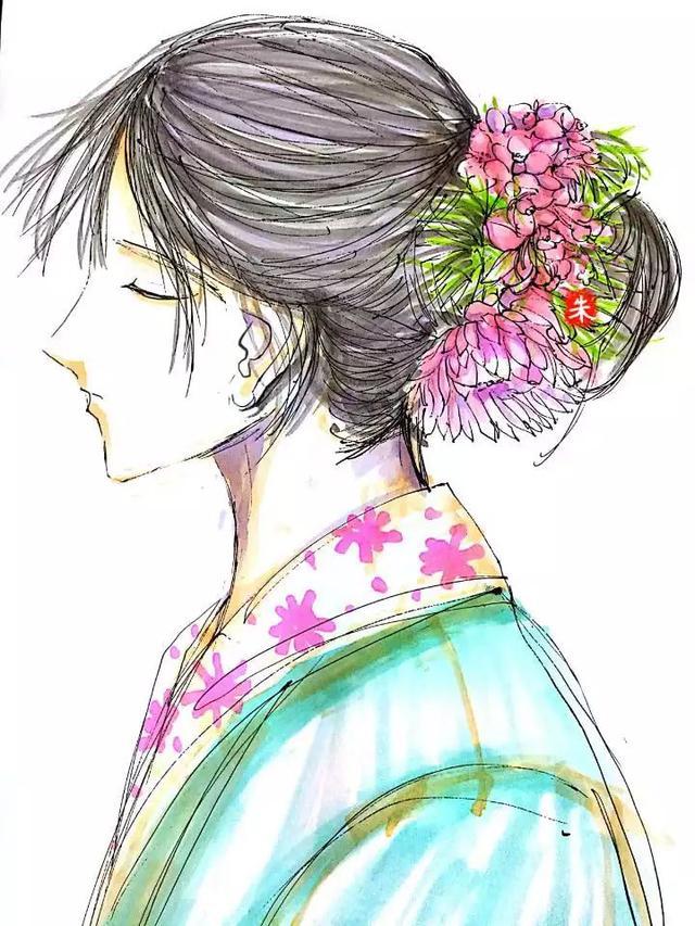 新娘头花手绘合辑第二期