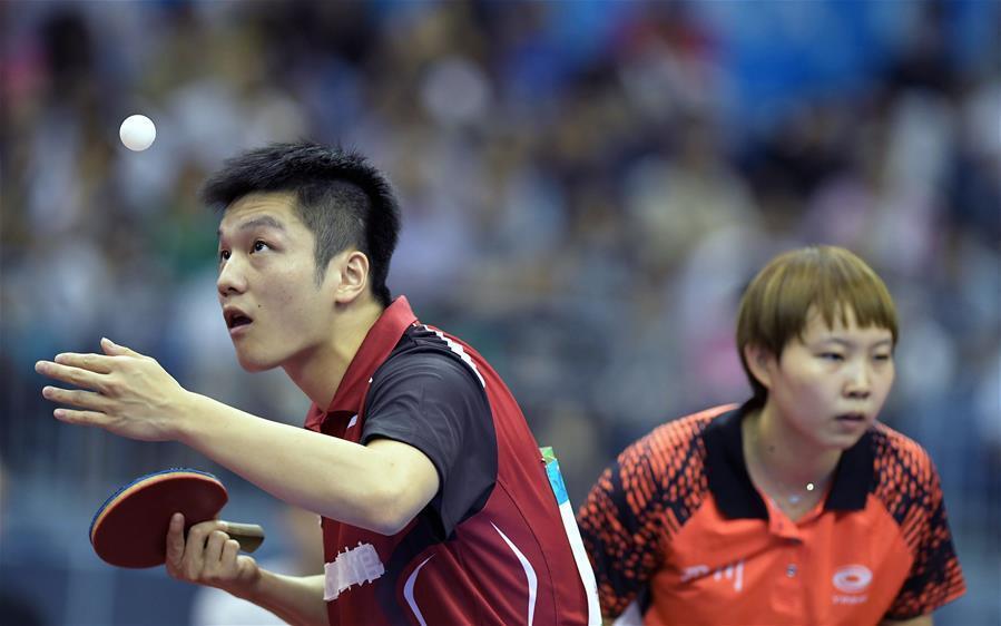 7世界冠军2世界第一 两大魔王领衔国乒冲亚运会5金
