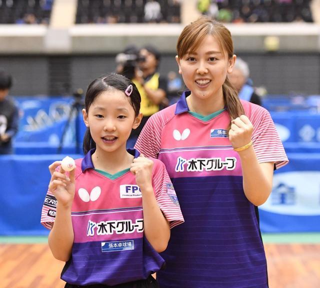 国乒颤抖吧!日本扬言再出怪物天才,10岁张本美和杀进U18女单8强