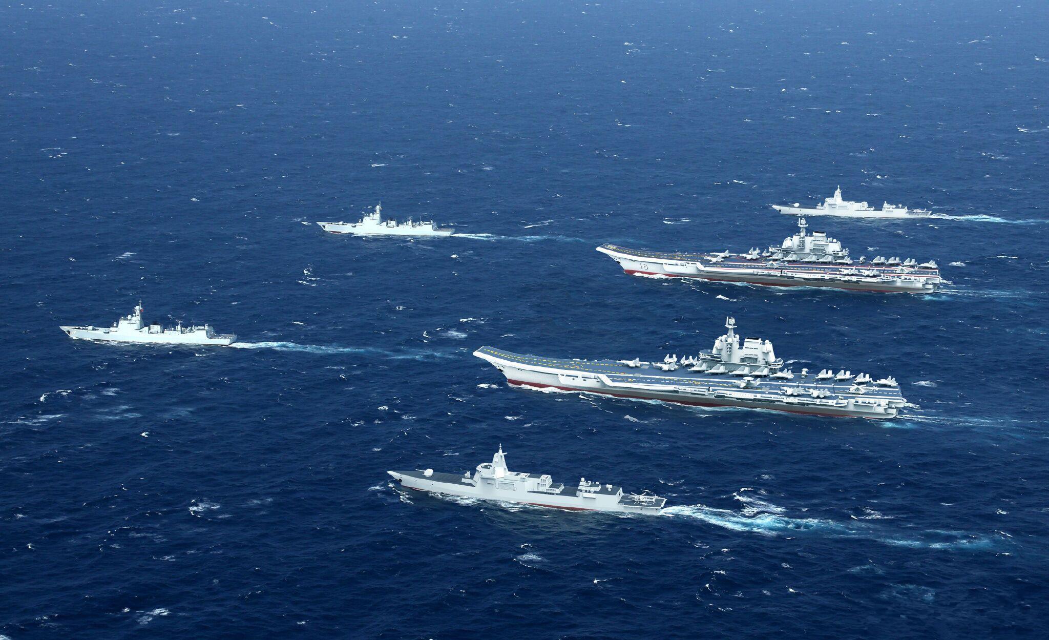 国产航母再次出海试航 双航母时代即将来临