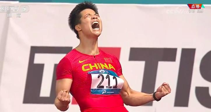 破纪录!苏炳添0.08秒绝杀夺冠 央视:绝不给日本机会