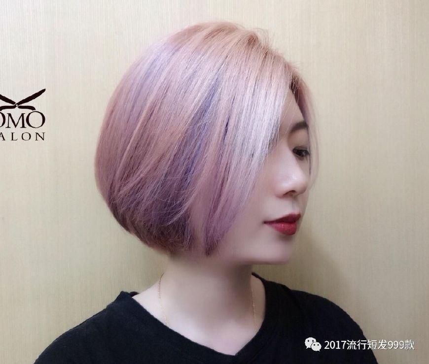 """2018流行""""秋短发"""",这样剪你就美了!图片"""