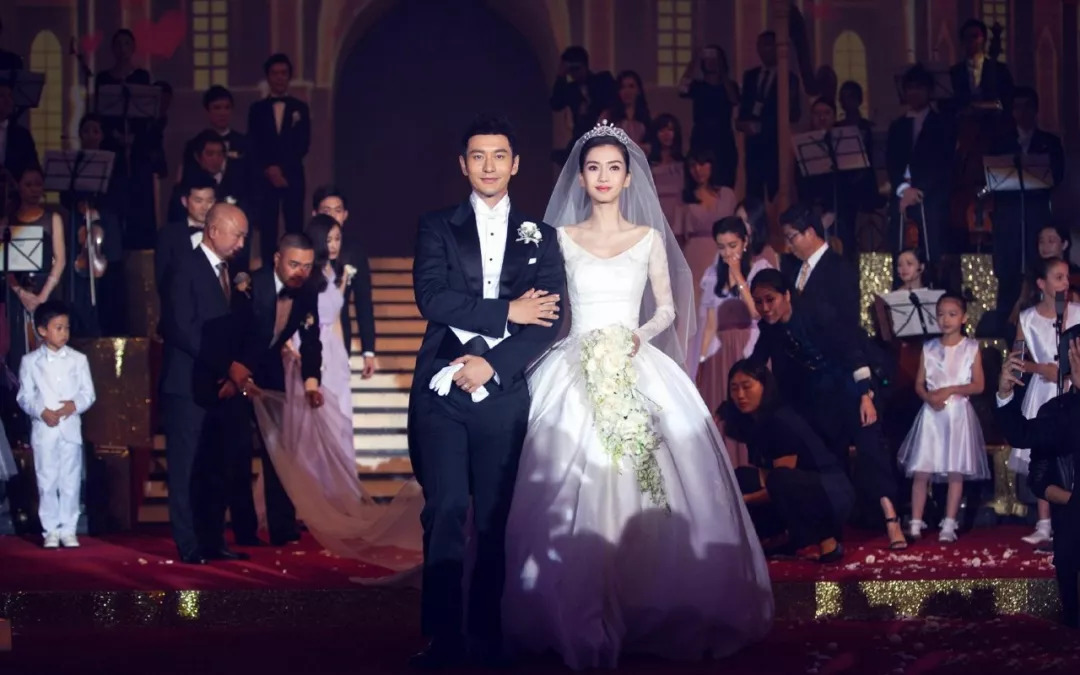 张馨予婚礼现场视频流露,盘点明星婚礼之最!