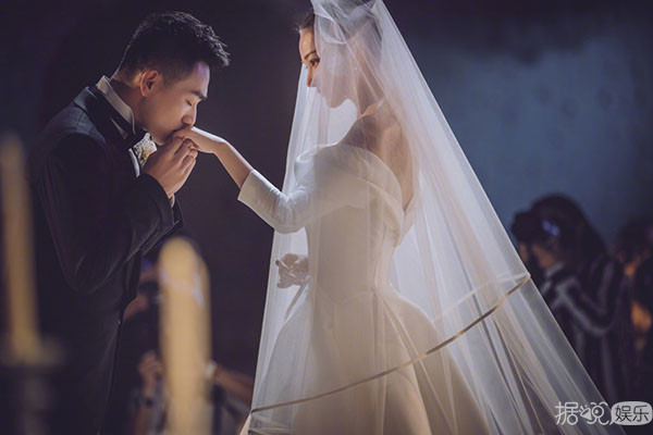 张馨予上海大婚,却被邓超孙俪给先抢了风头