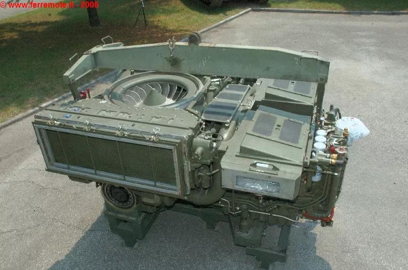 民用柴油机强坦克发动机就强?看看英国意大利