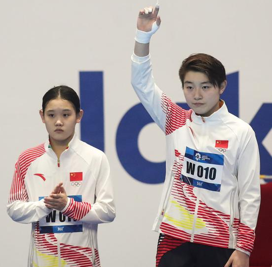 无敌是种寂寞!亚运跳水比赛单人项目,其他国家只能争铜牌