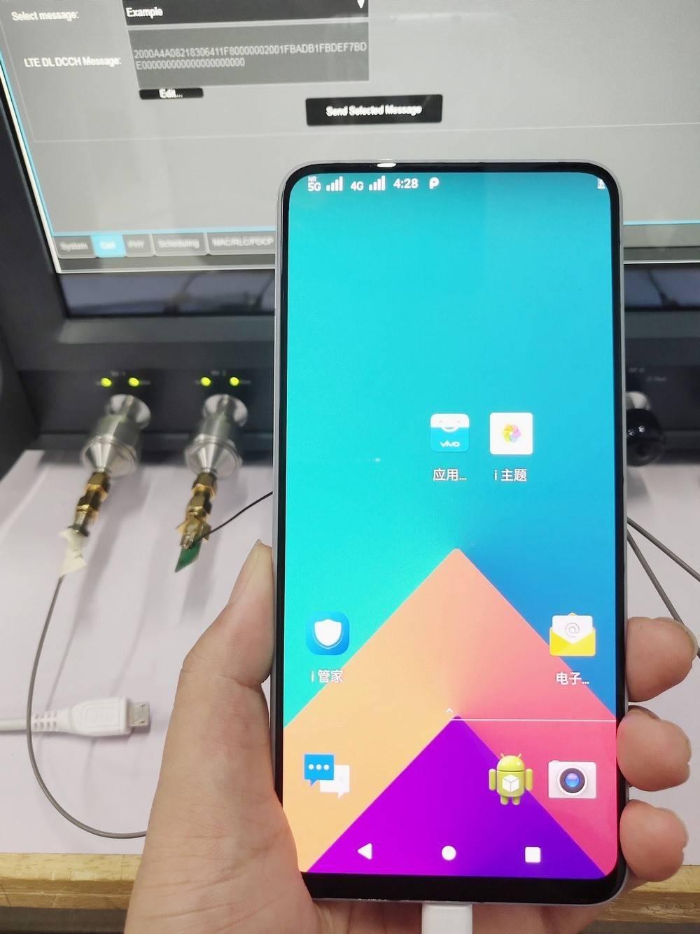 5G 版 NEX 曝光,vivo 初步完成商用的 5G 手机开发