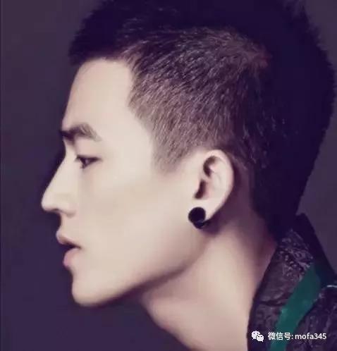 头上有发型旋的男生应该剪子弹发型头超新魏晨两个图片