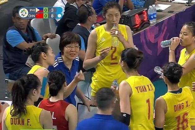 菲律宾把中国女排当最大劲敌 我们仅用1小时演练阵容
