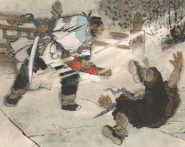 鲁达杨志林冲武松你们统统防卫过当了