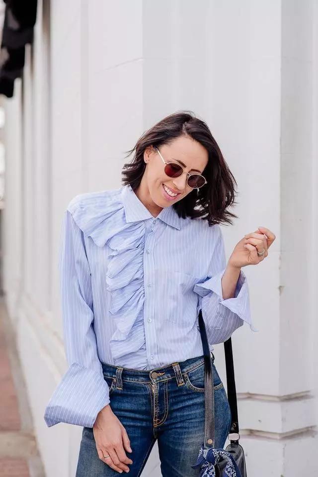 时尚衣服时尚元素有哪些这位只穿二手衣服的时