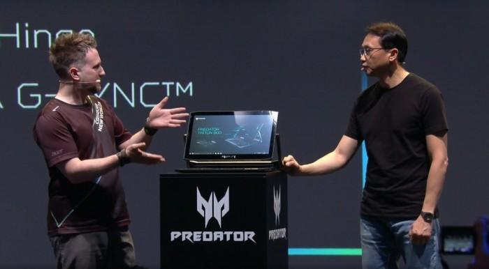 游戏本玩翻转屏?宏碁Predator新品亮相IFA