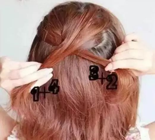 蜈蚣辫 发型 步骤 图解