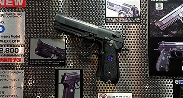 卡普空推出《生化危机》艾尔伯特01P手枪模型