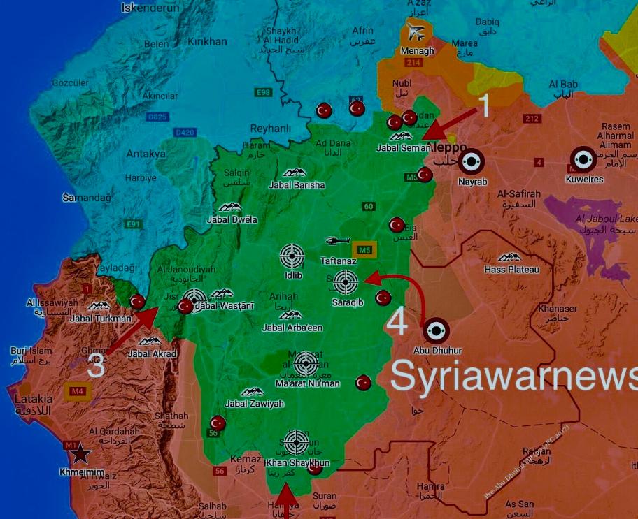 还有这种操作?俄军圈地演习掩护叙军打最后一仗