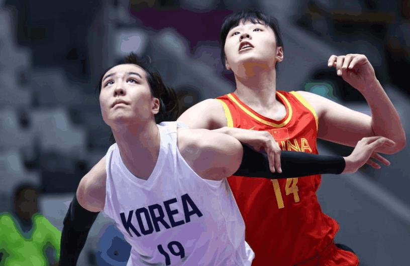 三大球首金!中国女篮险胜朝韩联队 邵婷关键5分杀死比赛