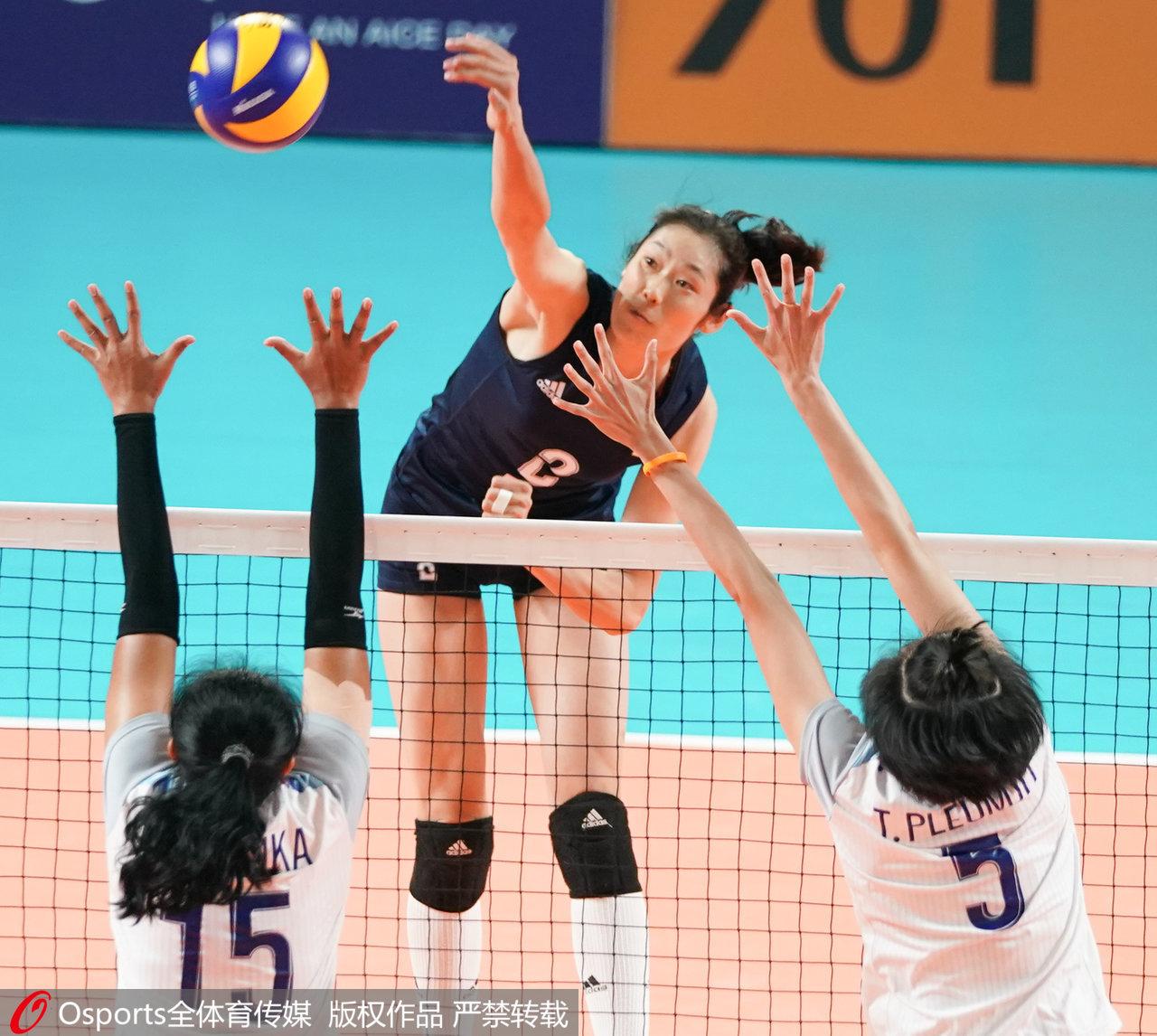 中国女排重夺亚运冠军!8场3