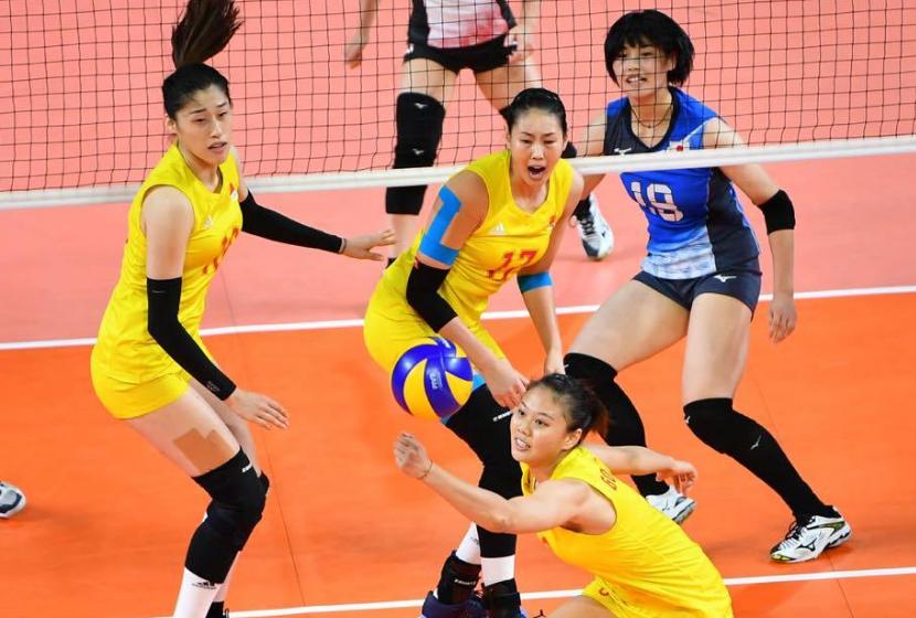 第七个3比0!中国女排零封日本,今日与泰国争冠