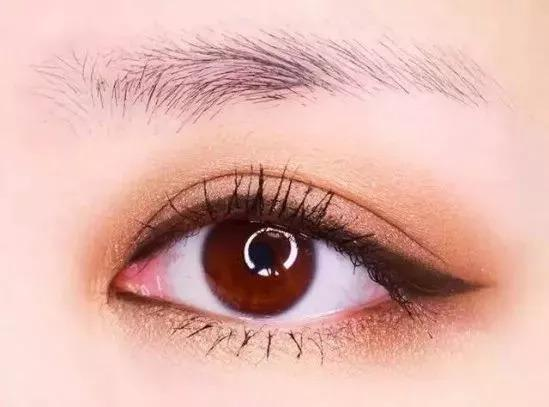 韩眼妆图片步骤图解