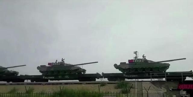 99式坦克首次出国参加战略大演习 为何不派99A?