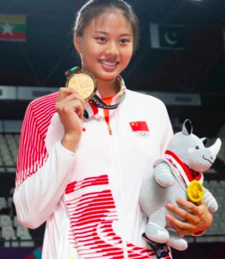 女排最年轻奥运冠军成才!她坐稳接应位置第一人