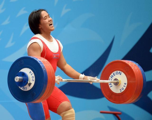 中国举重缺席亚运会,朝鲜成最大收益者独揽8金