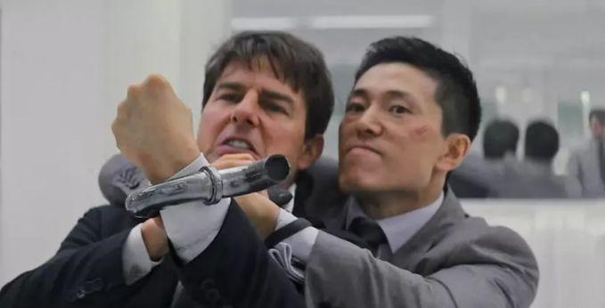 碟中谍1免费观看_外网评《碟中谍6》最经典片段:东北爷们1v2,干翻阿汤哥和大超!