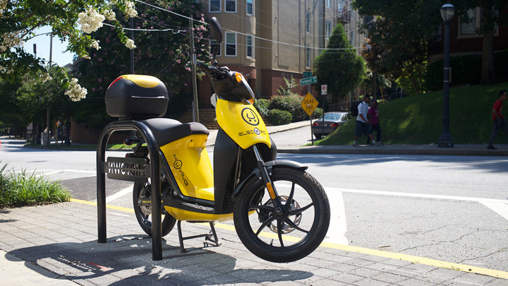 """比滑板车更快,美国开始试水""""共享电动摩托车"""""""