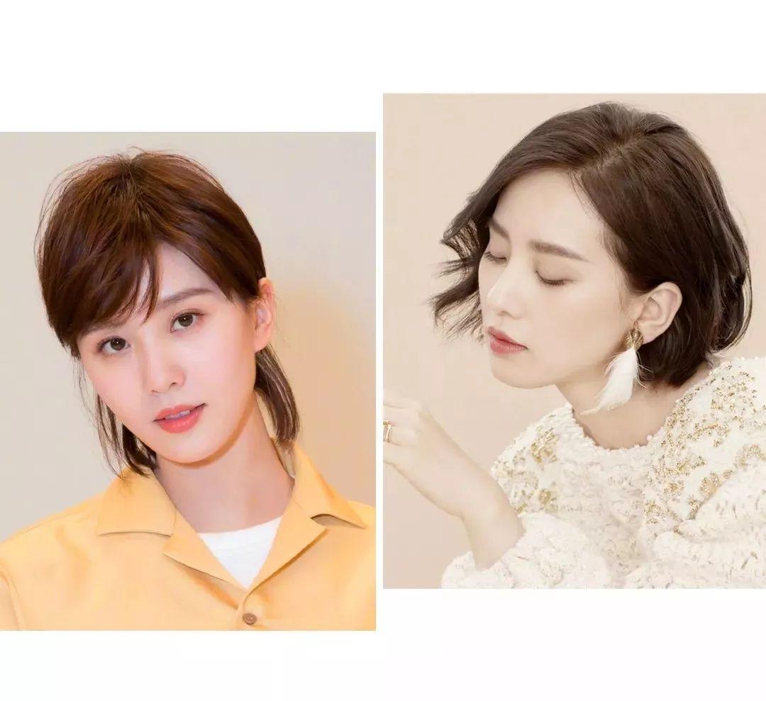 你的发型已经out了,2018流行这4款短发!图片
