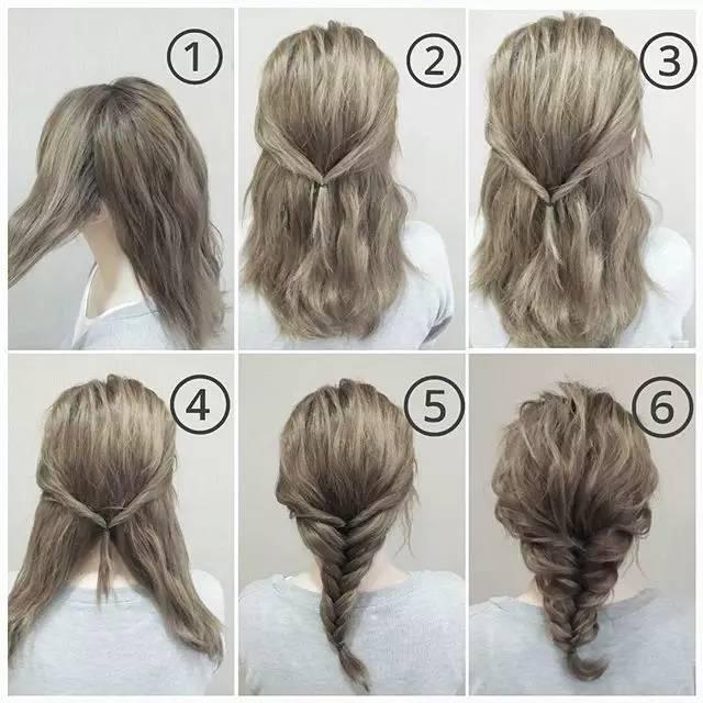 编头发的步骤及图解大全