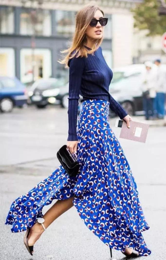 > 正文   如果说针织衫搭配裤装显瘦又好穿,那么针织衫搭配裙装女人味