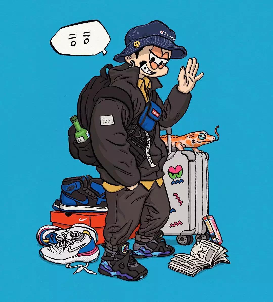 帅哥 大胆好色的漫画壁纸,居然是个韩国漫画龙公主的与潮流图片