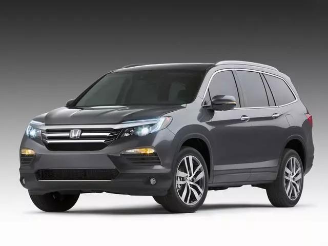 本田亮底牌了,新SUV比途观L气派,配V6动力,汉兰达地位或不保