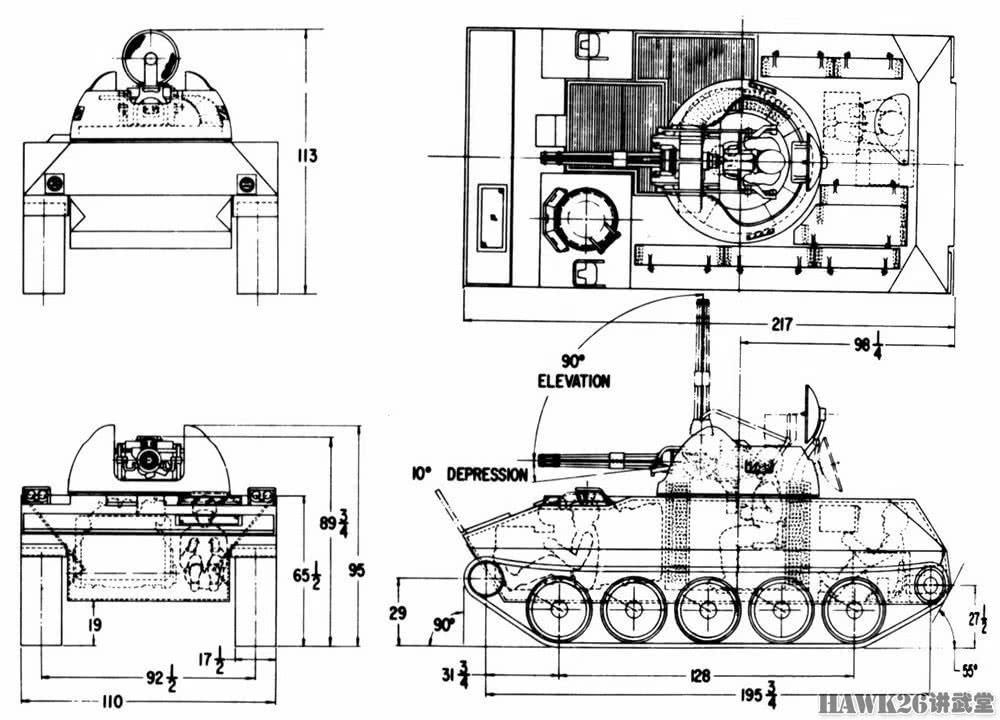 """苦苦追寻的""""石勒喀河""""美军研制自行高炮坎坷经历"""