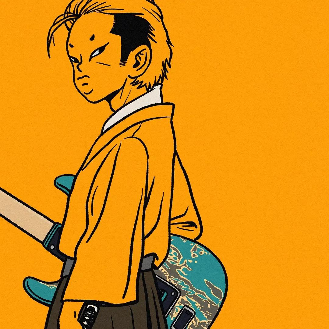 潮流 大胆好色的漫画帅哥,居然是个韩国漫画灯泡的壁纸图片