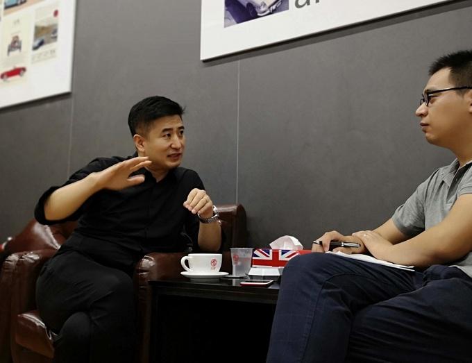 对话邵景峰名爵HS担任品牌队长 要引起对手警觉-图7