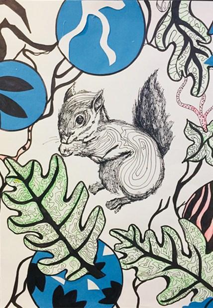 木马创意美术儿童画,手工,少儿创意美术创意美术综合类作品欣赏图片